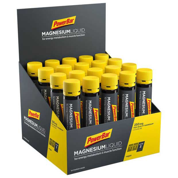 Powerbar Magnesium Liquid Box 20 Units x 25ml