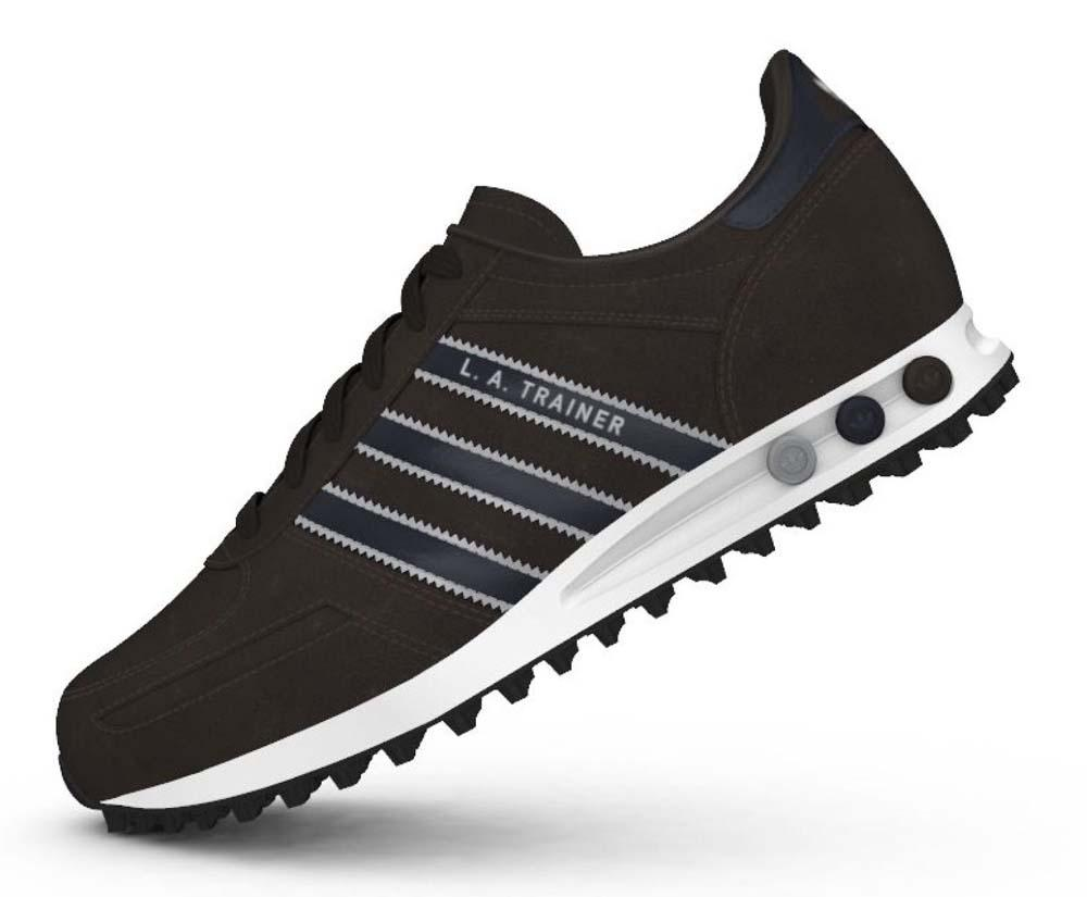 La Trainer Adidas Black