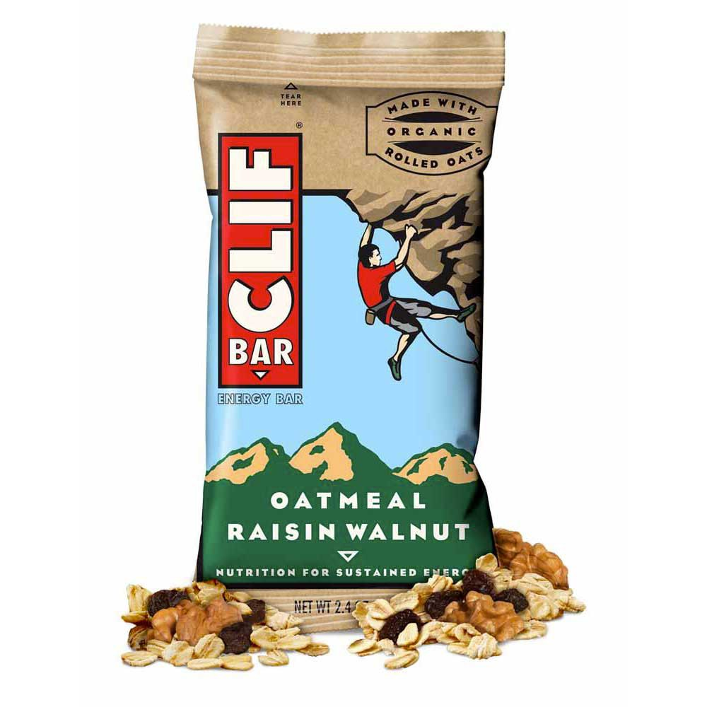 Clif Energy Bar Oats/Raisins/Walnuts Box 12 Units