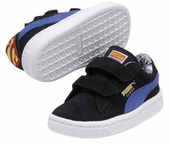 save off 8497f 962e0 Puma Suede Superman Junior