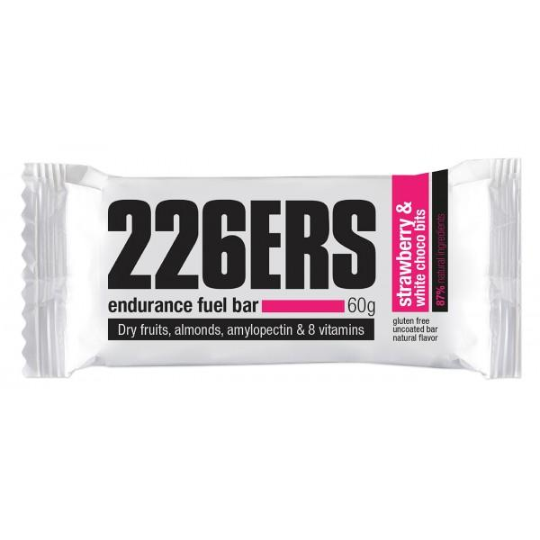 226ers Endurance Fuel Bar Strawberry & White Choco 60gr