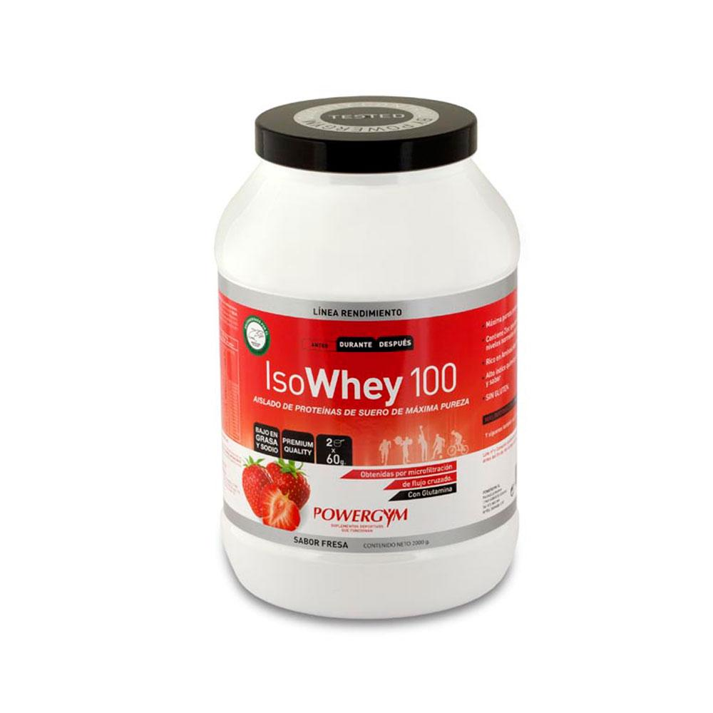 Powergym Isowhey 2kg Strawberry