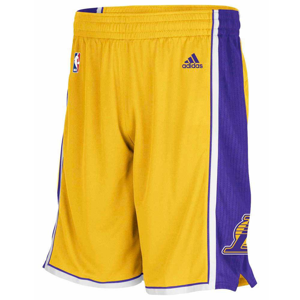 adidas Woven Nba Team Short Los Angeles Lakers