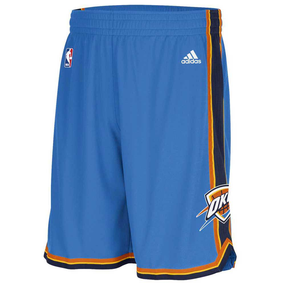 adidas Woven Nba Team Short Oklahoma City Thunder