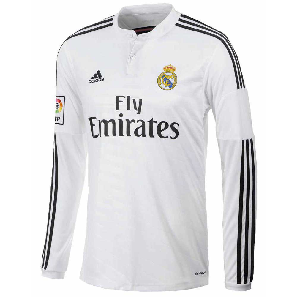 adidas t shirt real madrid l s acheter et offres sur goalinn. Black Bedroom Furniture Sets. Home Design Ideas