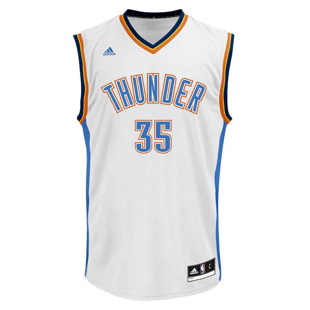 f02619441100 adidas Oklahoma City Thunder Kevin Durant Away Replica Jersey buy and  offers on Goalinn