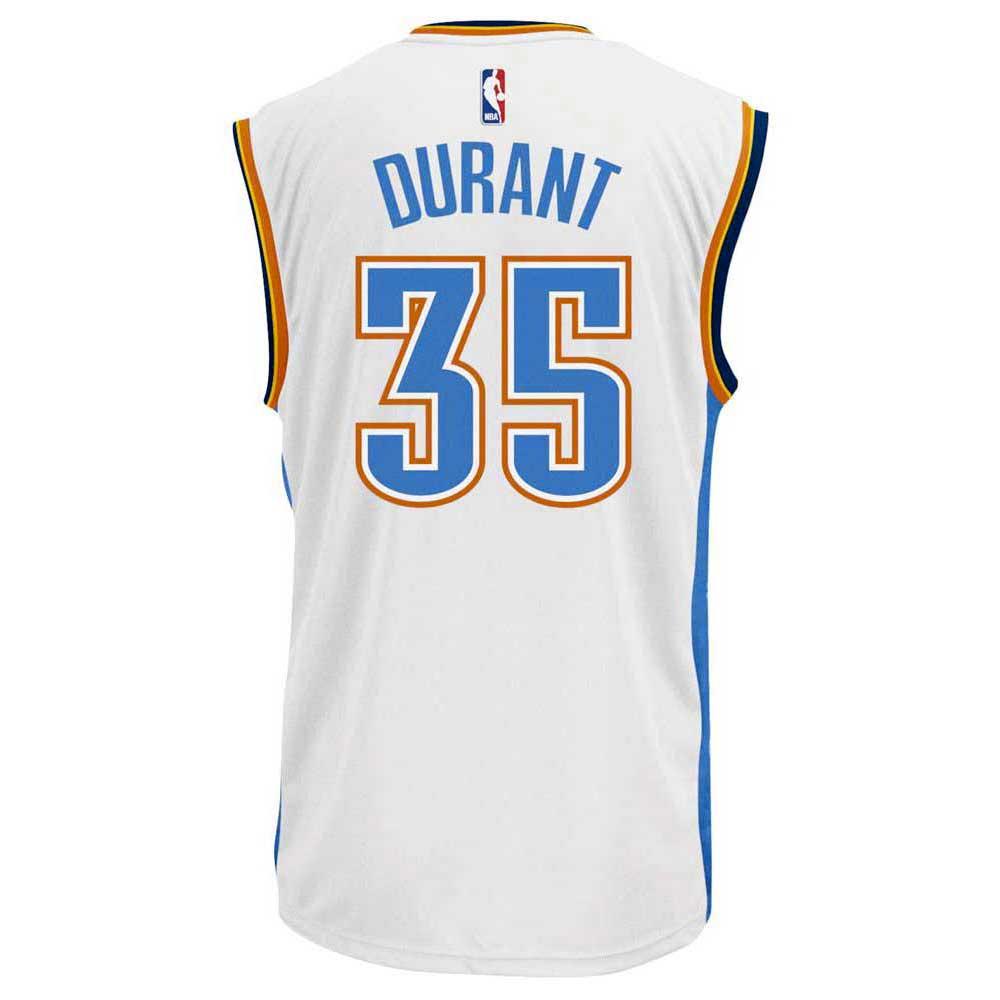 Adidas Oklahoma City Thunder Kevin Durant Away Replica Jersey