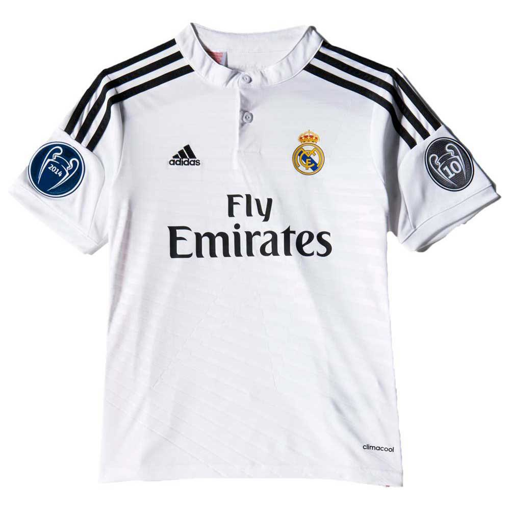 t shirt real madrid champions league junior goalinn. Black Bedroom Furniture Sets. Home Design Ideas