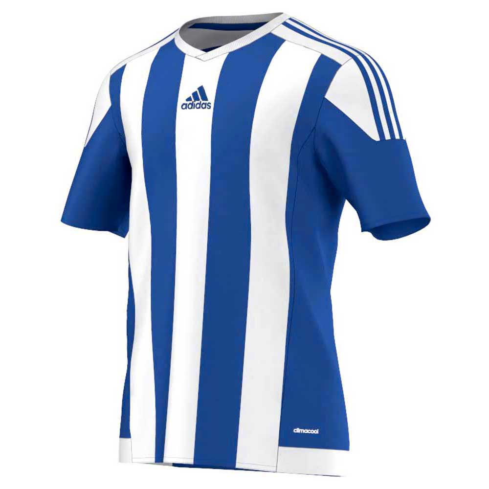 d88c61457 adidas Striped 15 Jersey White buy and offers on Goalinn