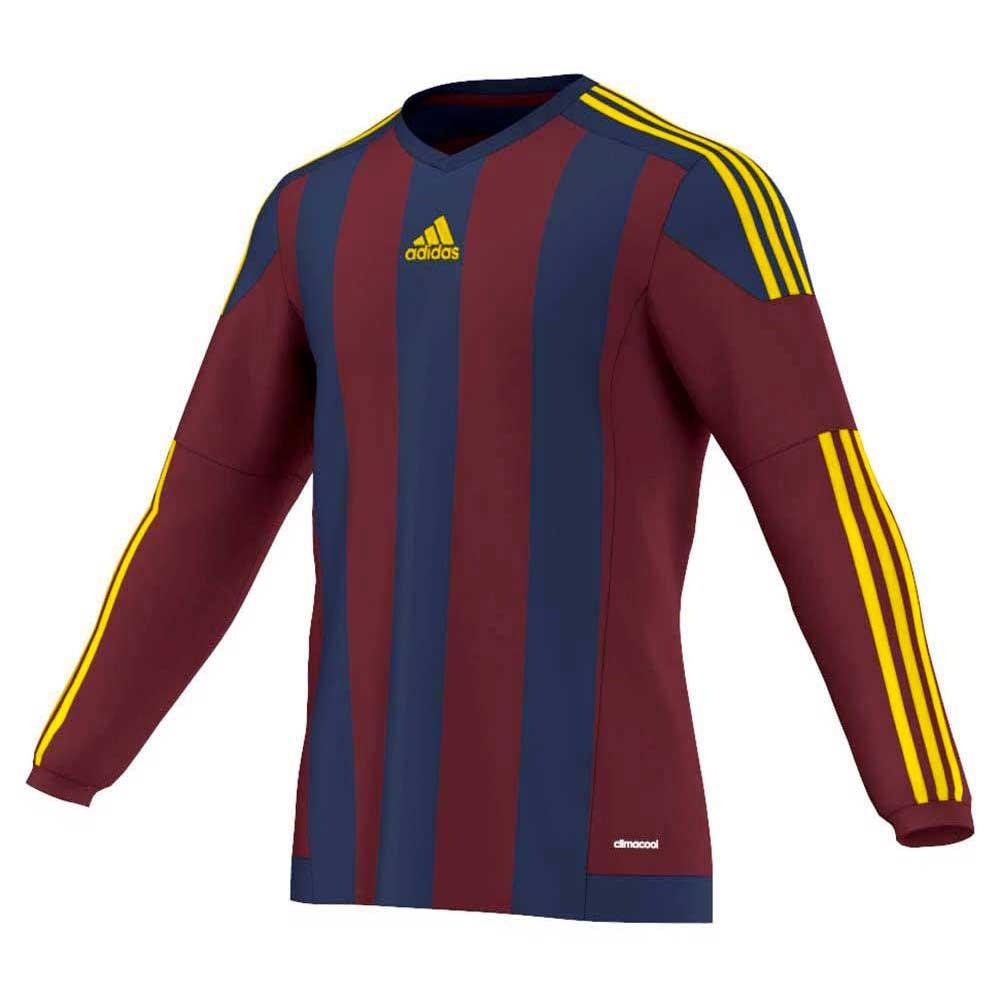 a18e15f3ce56d adidas Striped 15 Jersey L S Junior Rojo