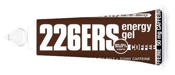 226ers Energy Gel Coffee 25 g (Box 40 Units)