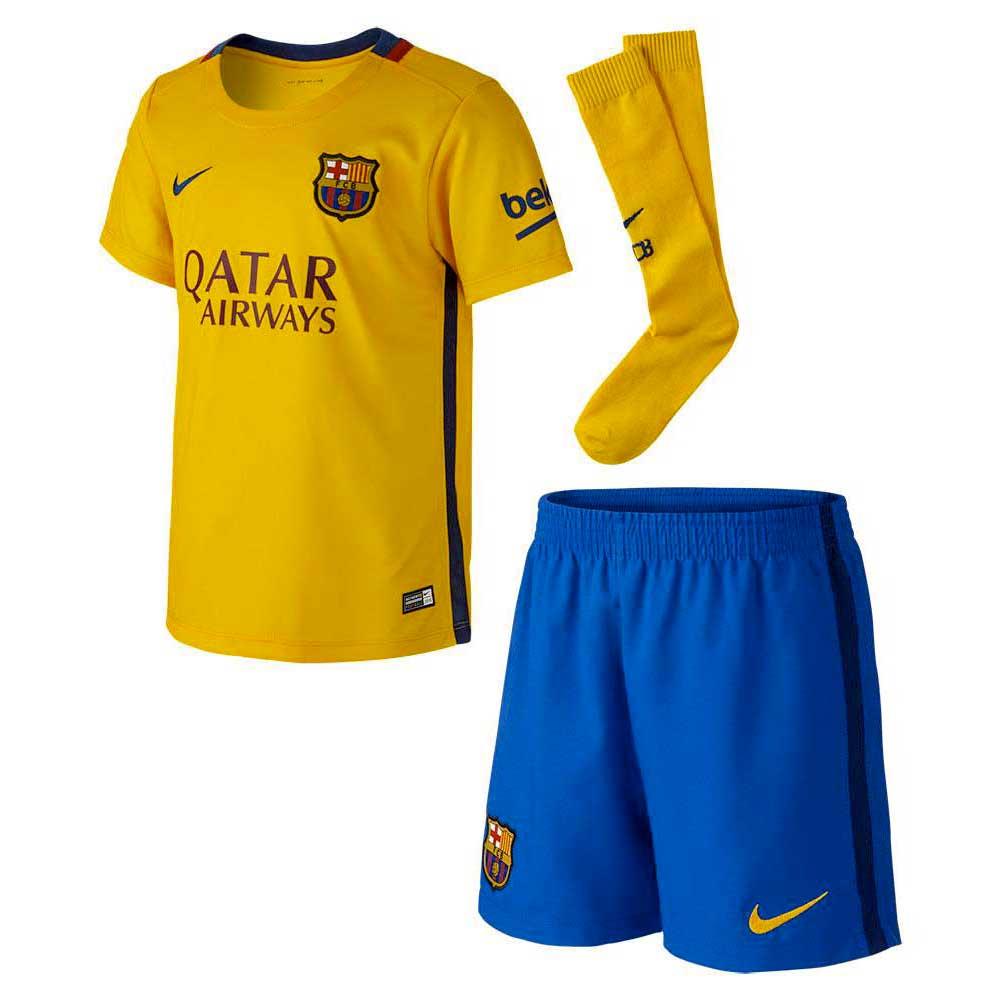 ca9f4b62f2 Nike FC Barcelona Away Kit 15 16 Amarelo