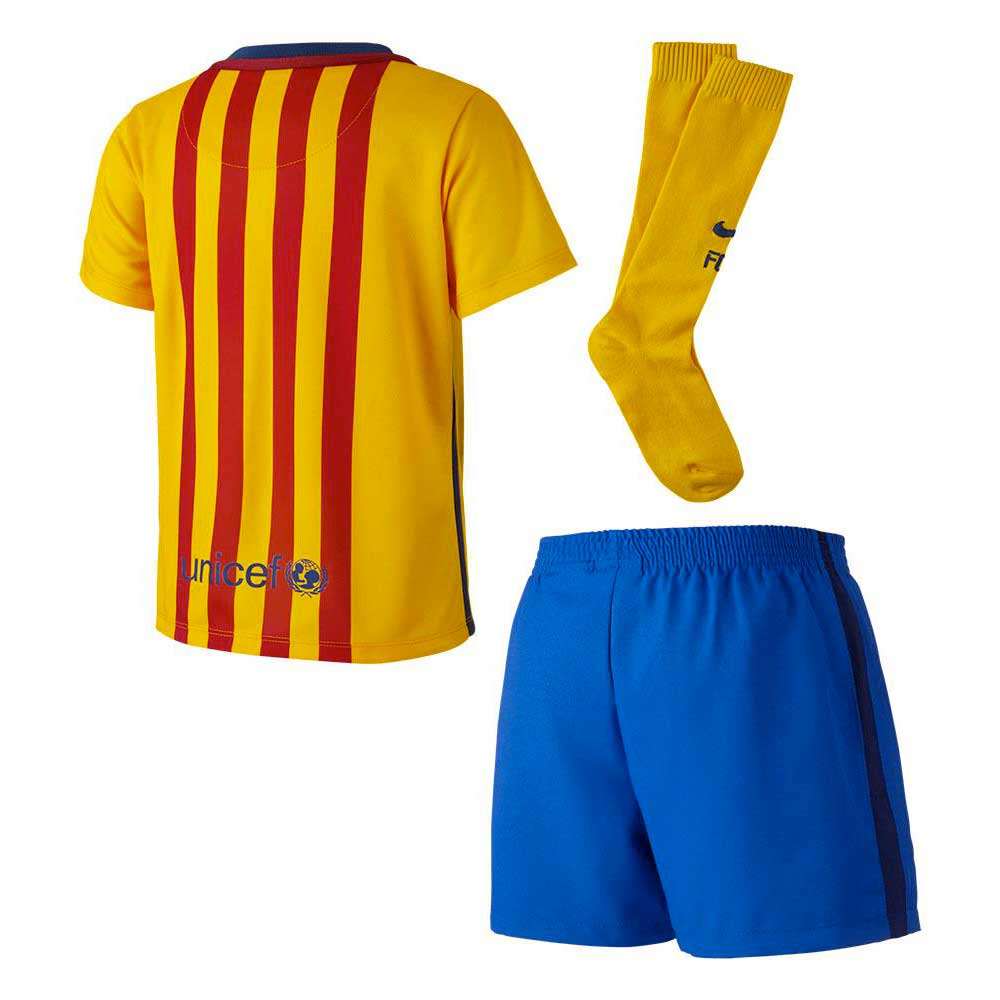 Fc Barcelona Away Kit 15/16 Junior