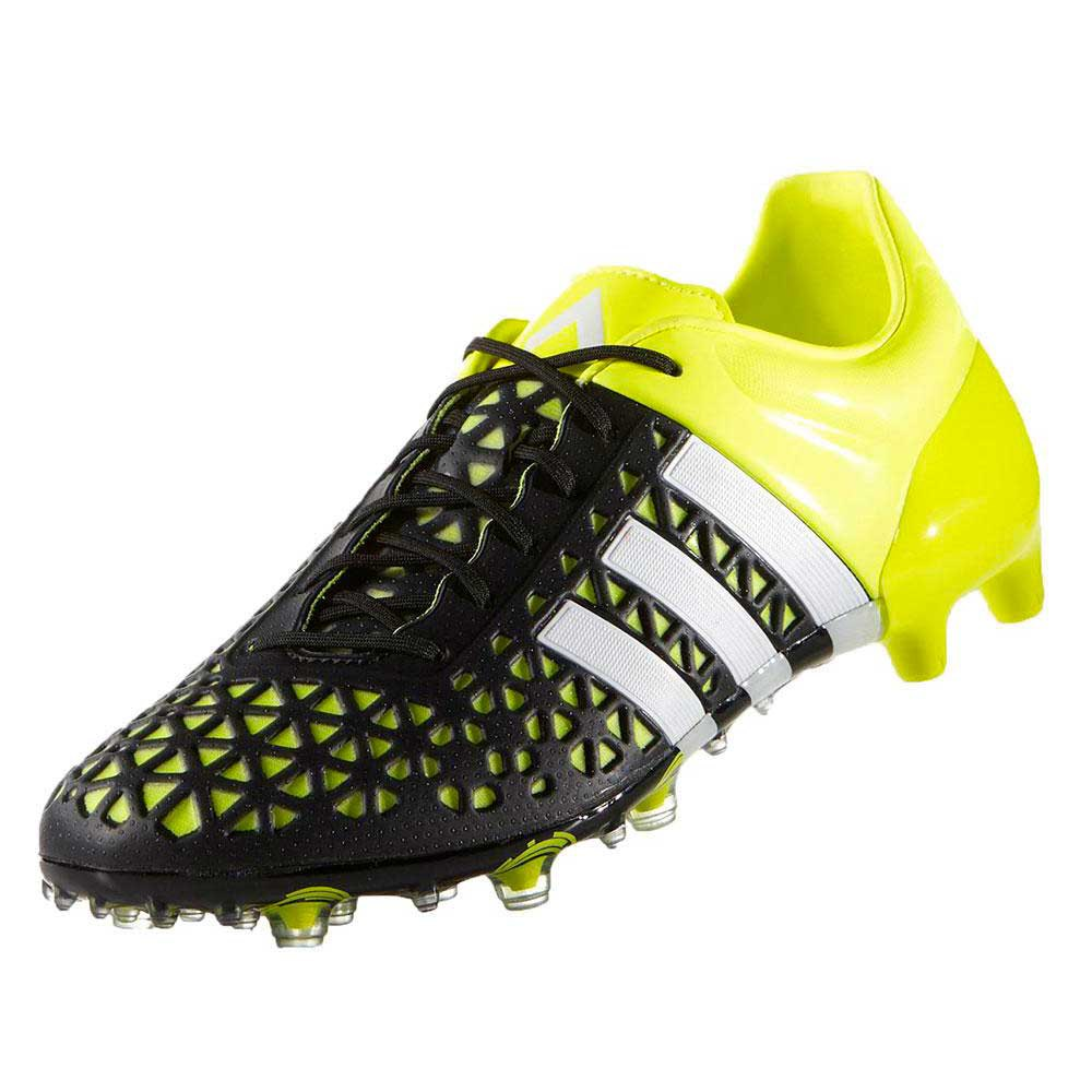 Chaussure de foot adidas Ace 15.1 FGAG Solar yellow White