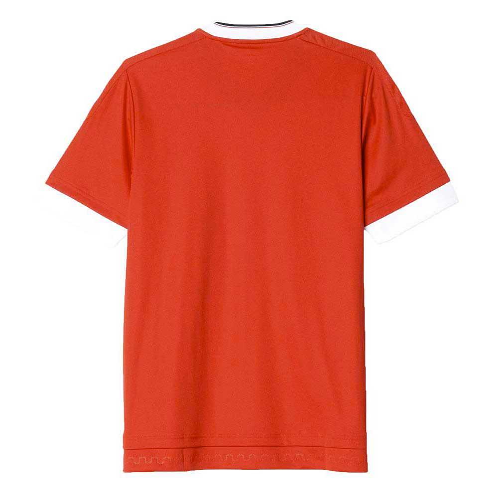 t shirt manchester united red white black goalinn. Black Bedroom Furniture Sets. Home Design Ideas