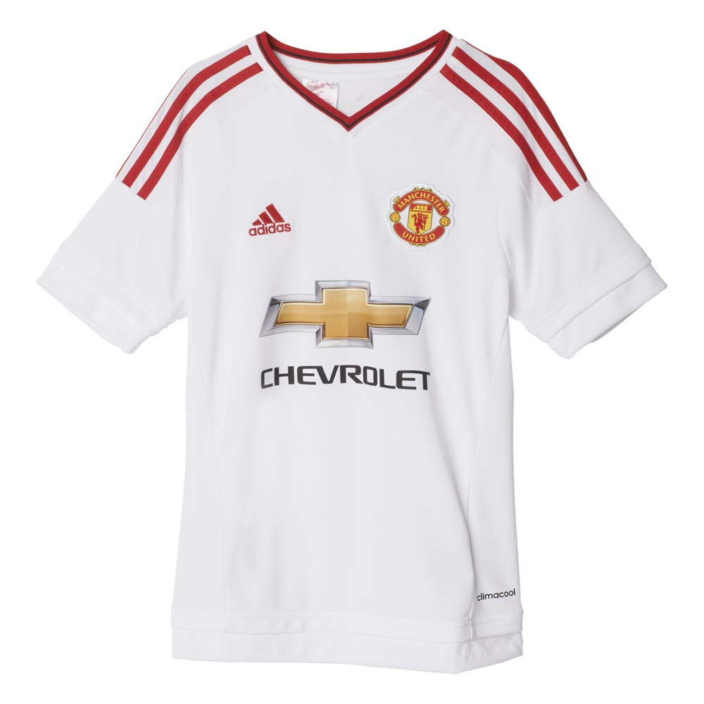 adidas T Shirt Manchester United Boys Away