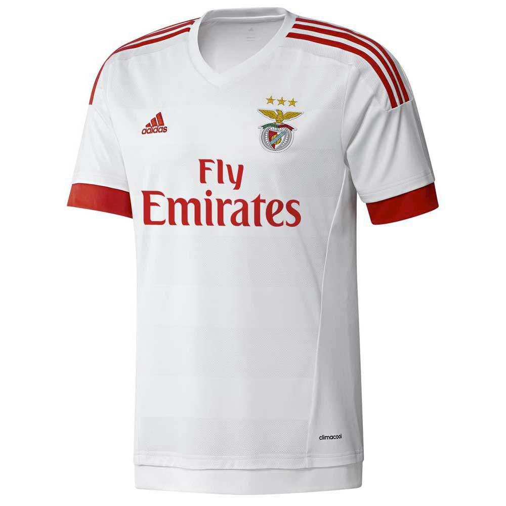 adidas T Shirt Benfica Away buy and offers on Goalinn 4a18d783cd86c