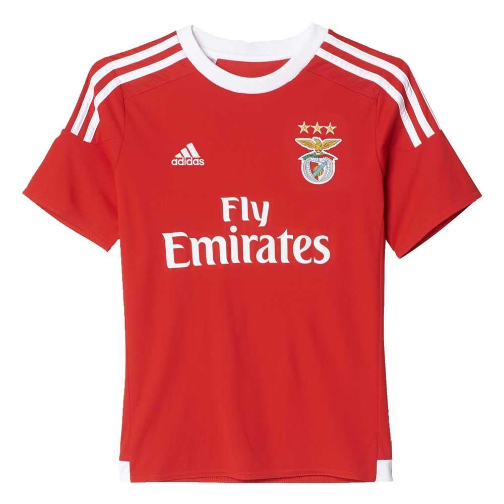 4bd13a8c588 adidas T Shirt Benfica Boys Rood kopen en aanbiedingen, Goalinn