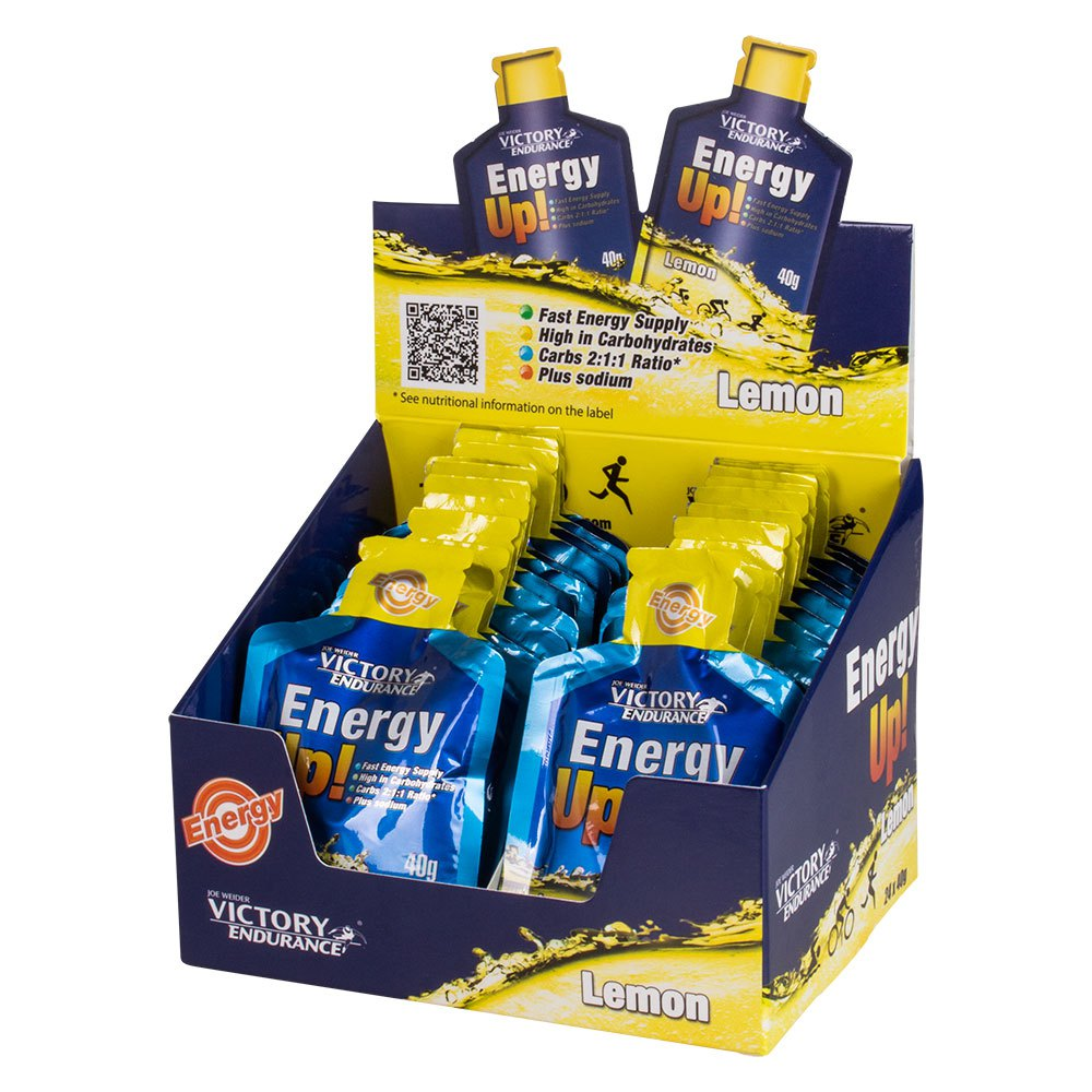 Victory endurance Energy Up 40gr 24 Units Lemon