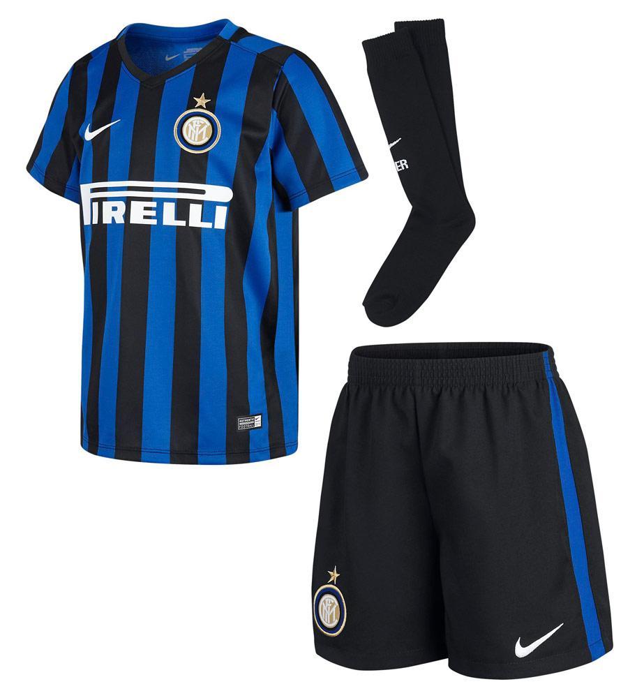 sale retailer 5850b 5321f Nike Inter Milan Little Boys Kit 2015-2016
