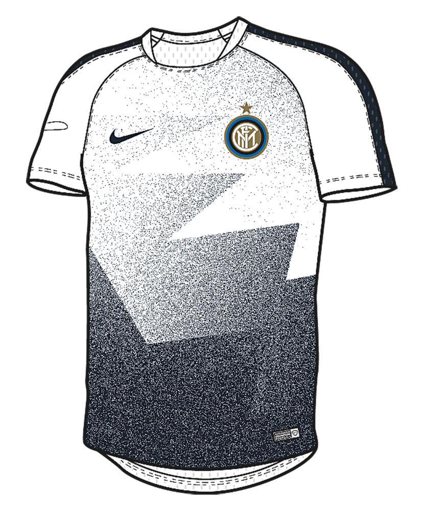472308fac37 Nike Inter Milan Flash Pre-Match S S Top Junior