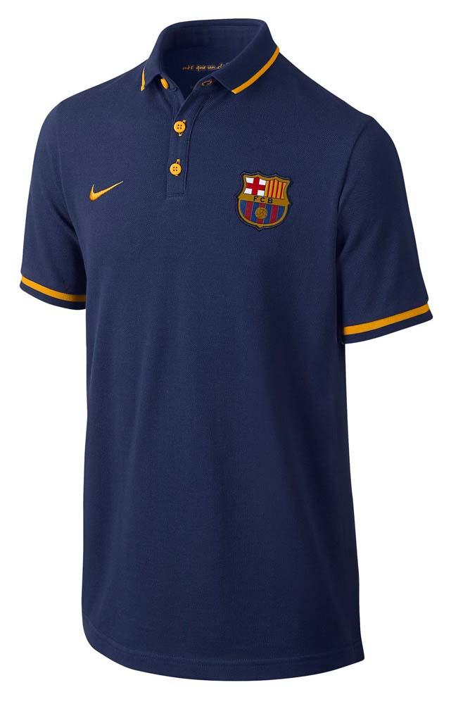 2a5b0e1b Nike FC Barcelona Authentic Polo S/S Junior, Goalinn