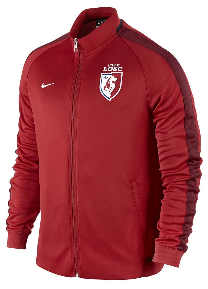 the latest bb7cb 1b982 Nike Lille Osc N98 Authentic Track Jacket , Goalinn
