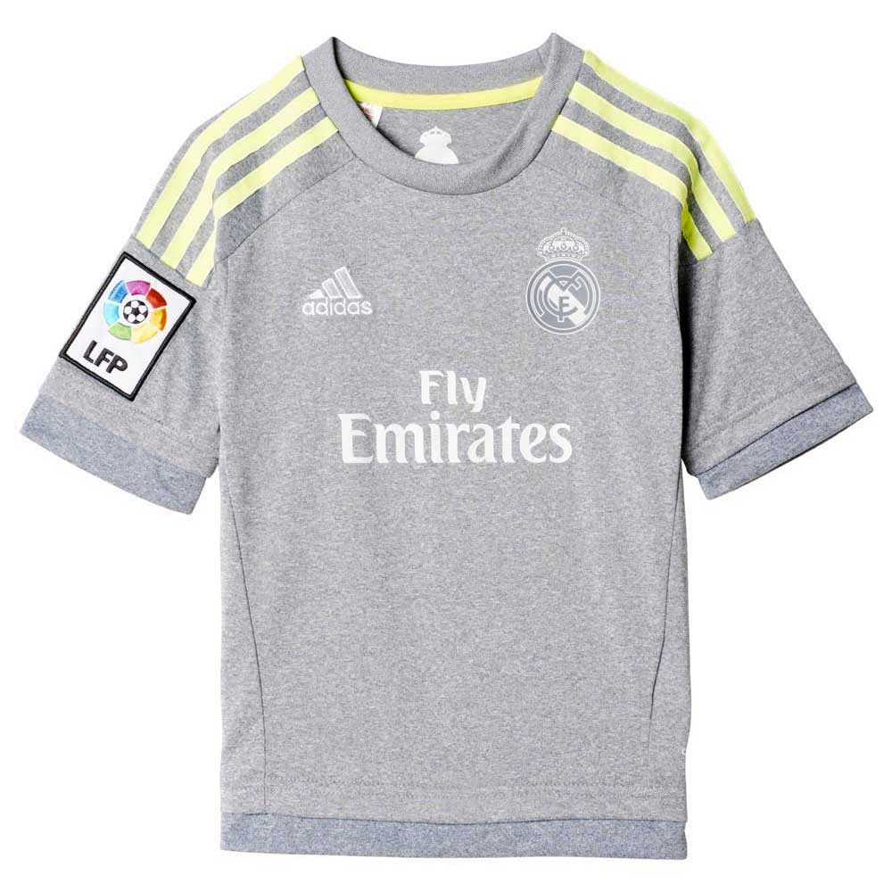 74579693b adidas Real Madrid Away Kit 15 16 Grey buy and offers on Goalinn