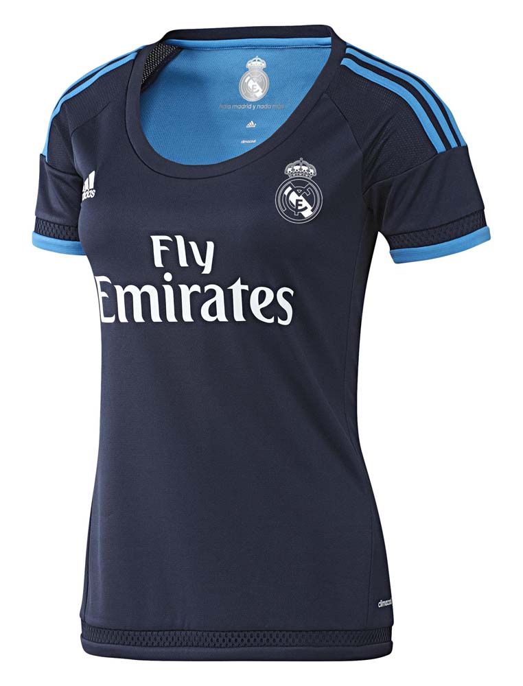 adidas T Shirt Real Madrid Third Woman
