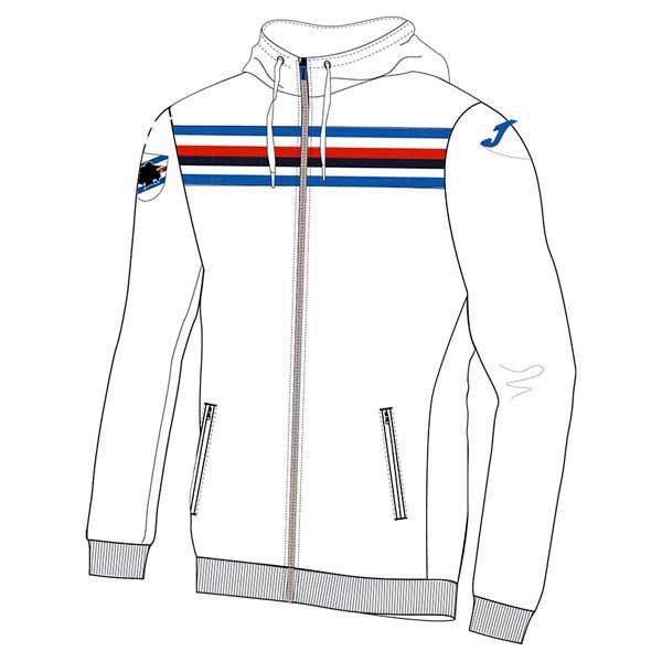 Joma Sampdoria Hooded Sweatshirt
