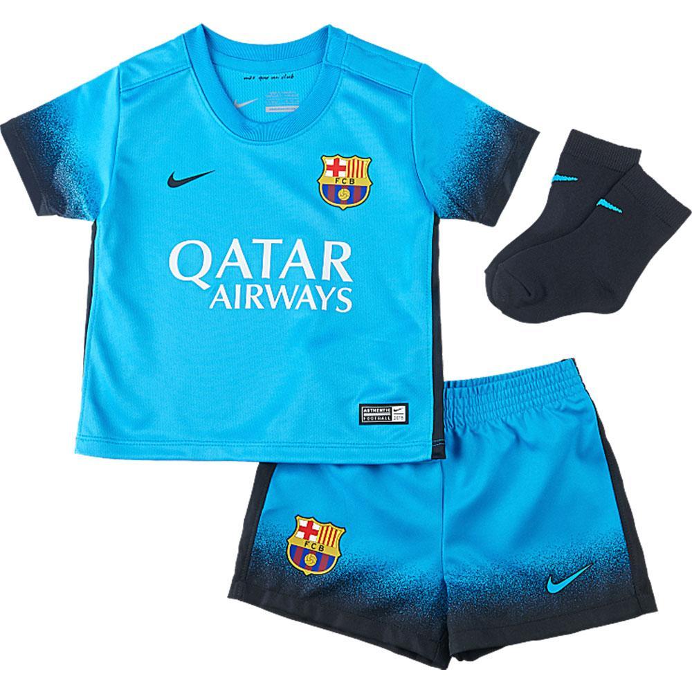 new arrival d343b 9eca1 Nike FC Barcelona 3rd Kit 15/16 Blue buy and offers on Goalinn