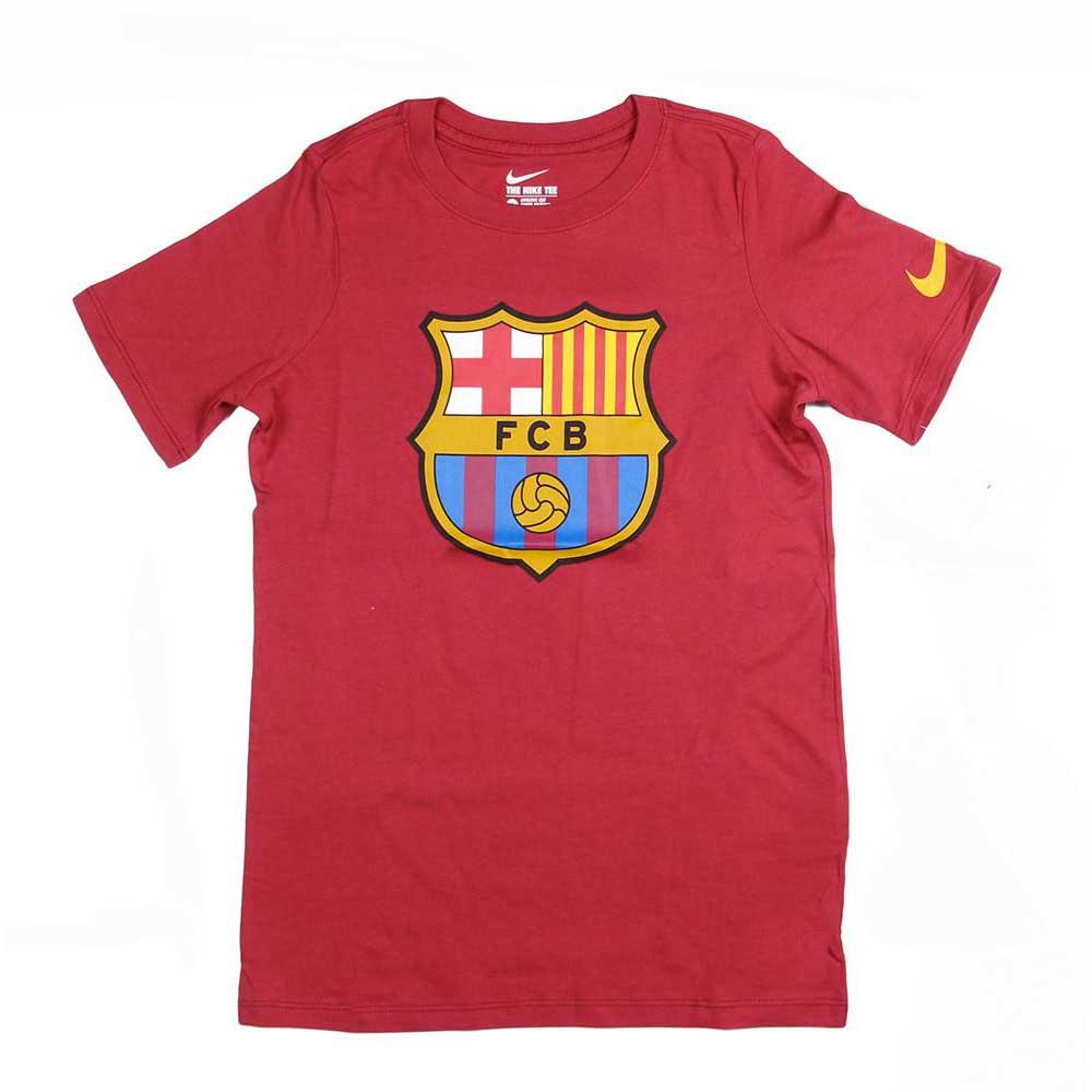 f6380bd5d9a1 Nike FC Barcelona Crest Tee Junior Κόκκινο