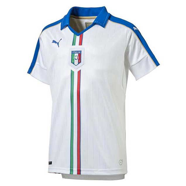 Puma Figc Italia Kids Away Shirt Replica Junior
