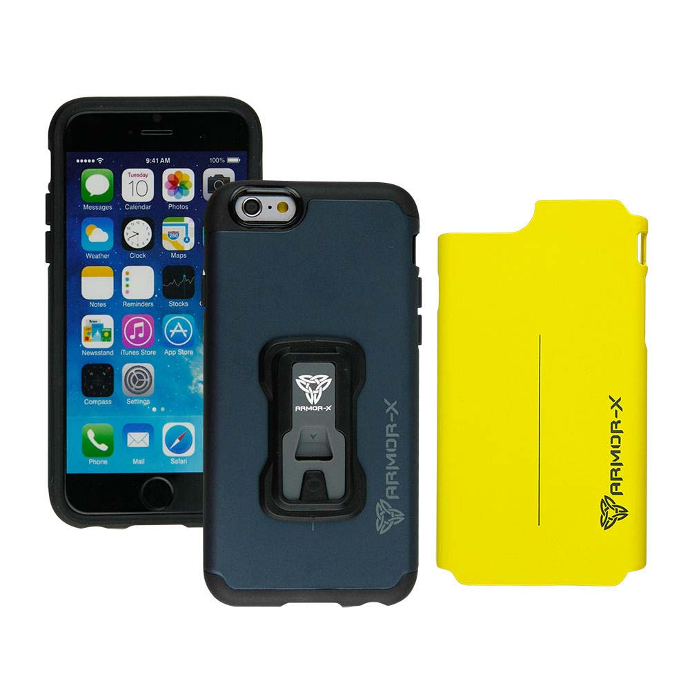 Armor-x cases Rugged case for iPhone 6/6S with X mount