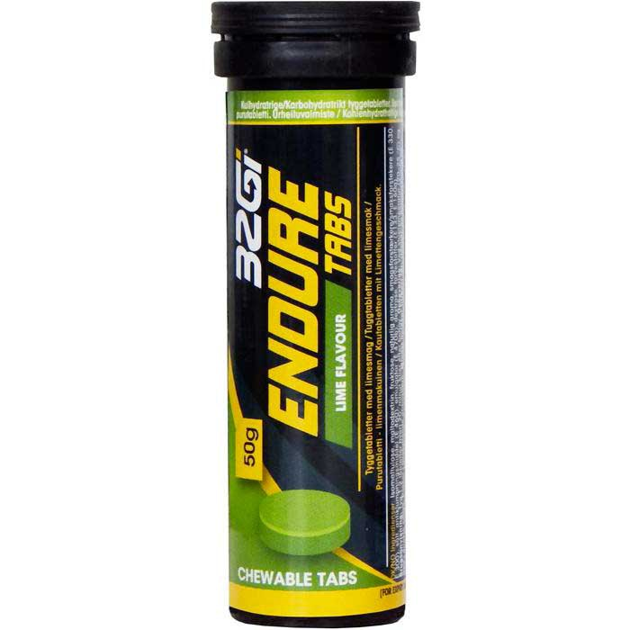 32gi Lime Endure Tabs Box 50gr x 10 Units