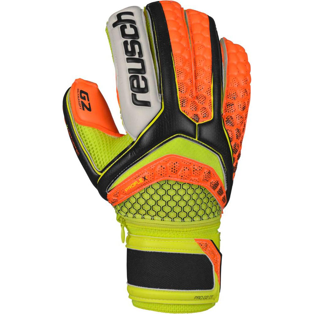Reusch Pulse Pro G2 OrthoTec Black Shocking Orange Shocking Orange Image