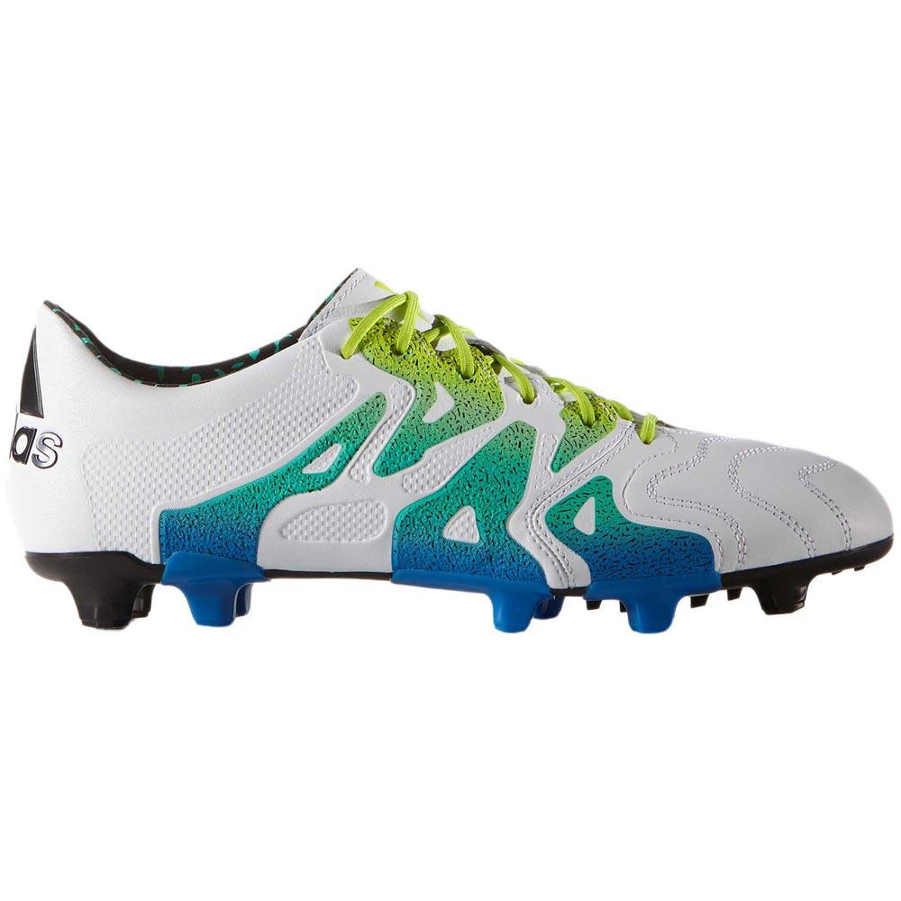 timeless design ffde4 ebc52 adidas X 15.1 FG AG Leather Multicolor buy and offers on Goalinn