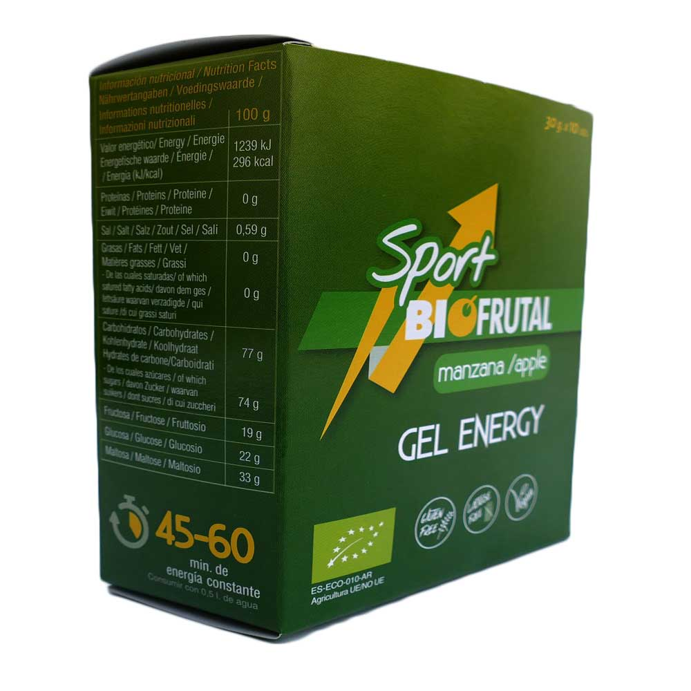 Biofrutal Gel Energy Apple 30 g x 10 Units