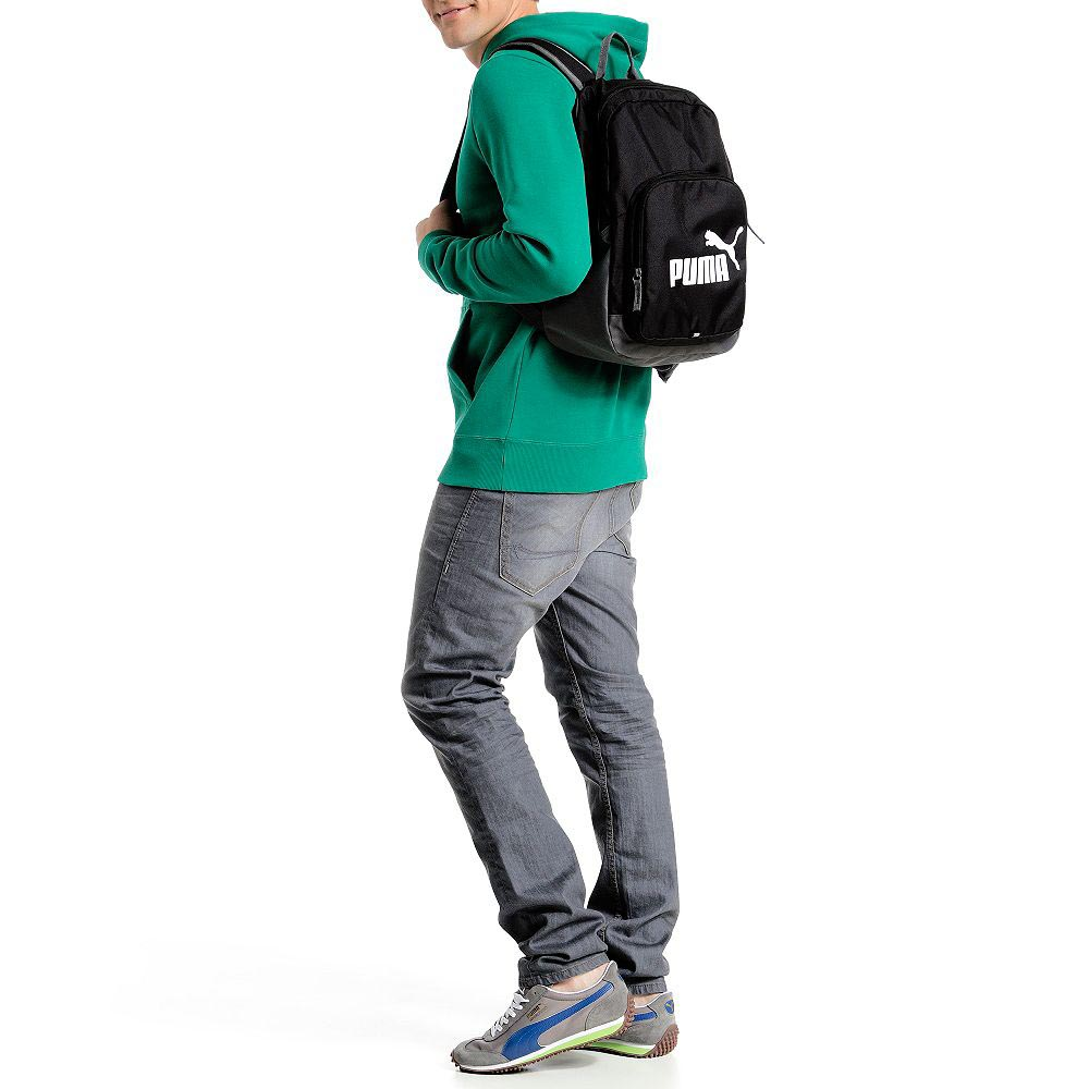 04a0f1191530 Puma Phase Backpack Black buy and offers on Goalinn