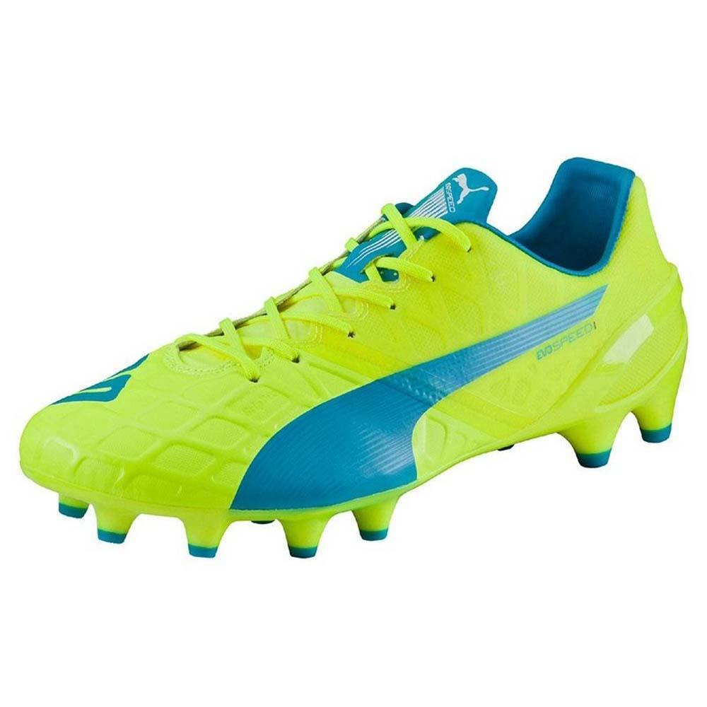 Puma Evospeed 1.4 FG Football Boots Yellow, Goalinn