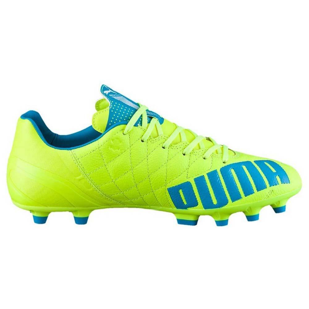 Puma Evospeed 3.4 Leather AG Grün, Goalinn