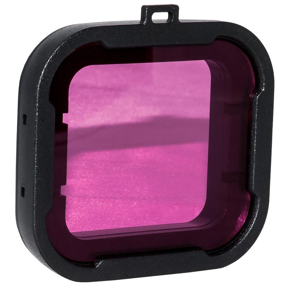 Action outdoor Magenta Filter Deluxe Black Frame