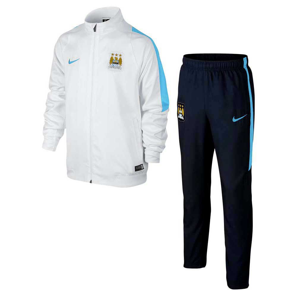 Nike Manchester City Revolution Woven Tracksuit Junior 4bf81324040