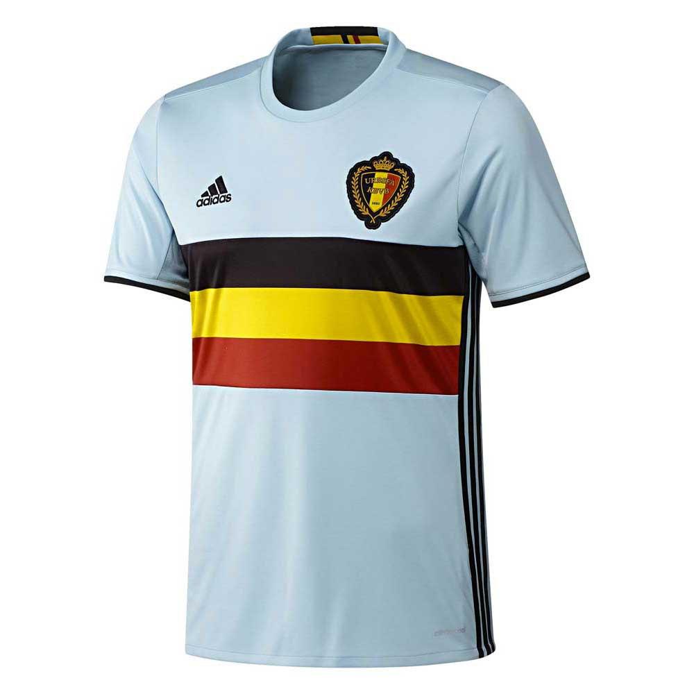 adidas T Shirt Belgium Away buy and offers on Goalinn 7f6b4cbeae9b6