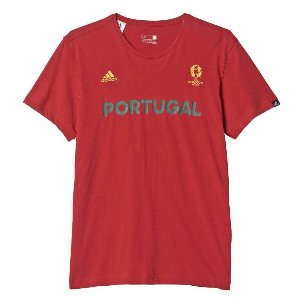 adidas t shirt euro 16 portugal buy and offers on goalinn. Black Bedroom Furniture Sets. Home Design Ideas