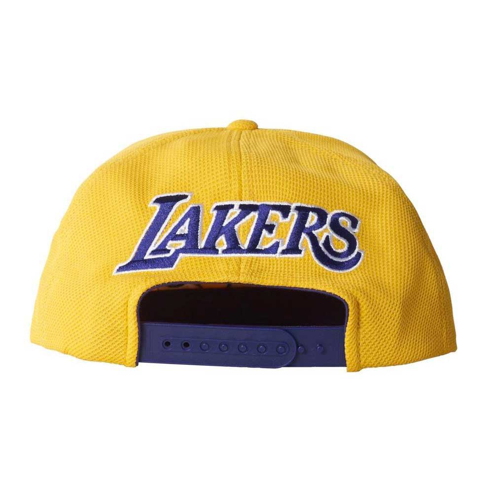 29050356b2b adidas Lakers Flat Cap buy and offers on Goalinn