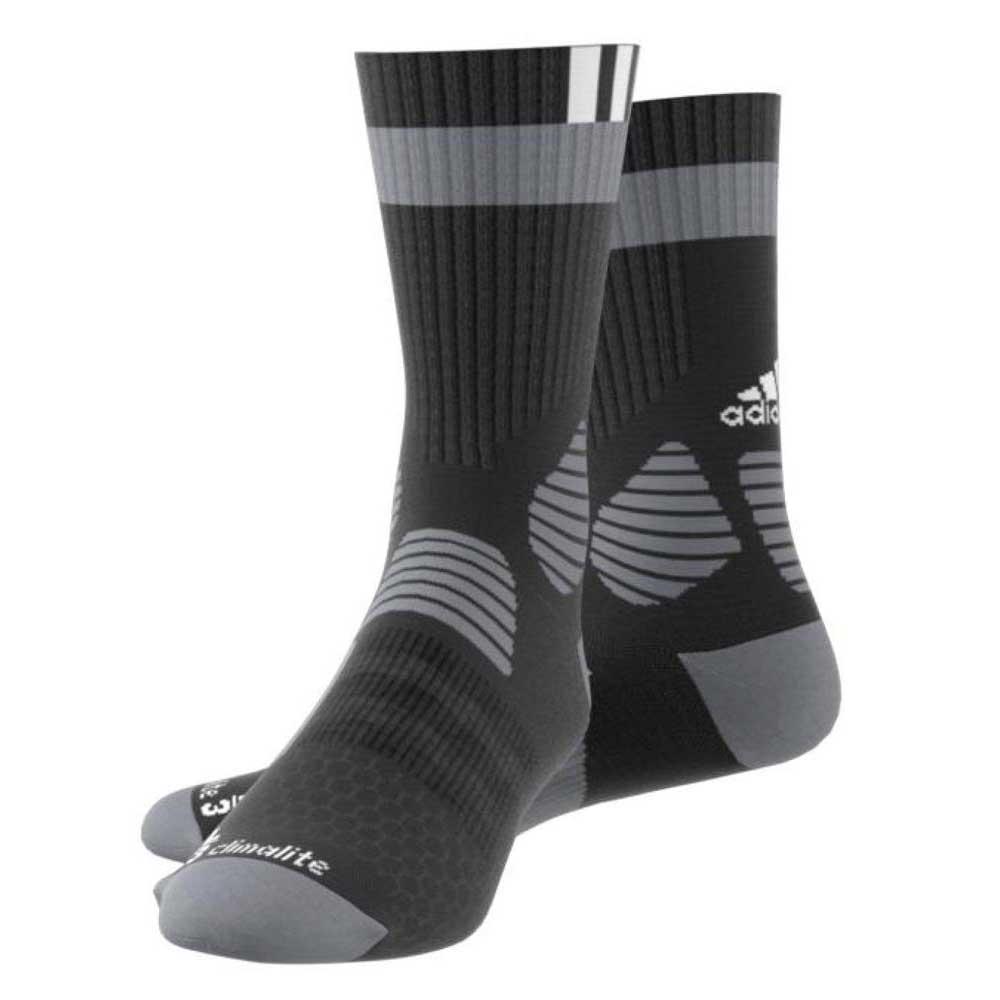 356adbd7e19 adidas Id Socks Comfort Black buy and offers on Goalinn