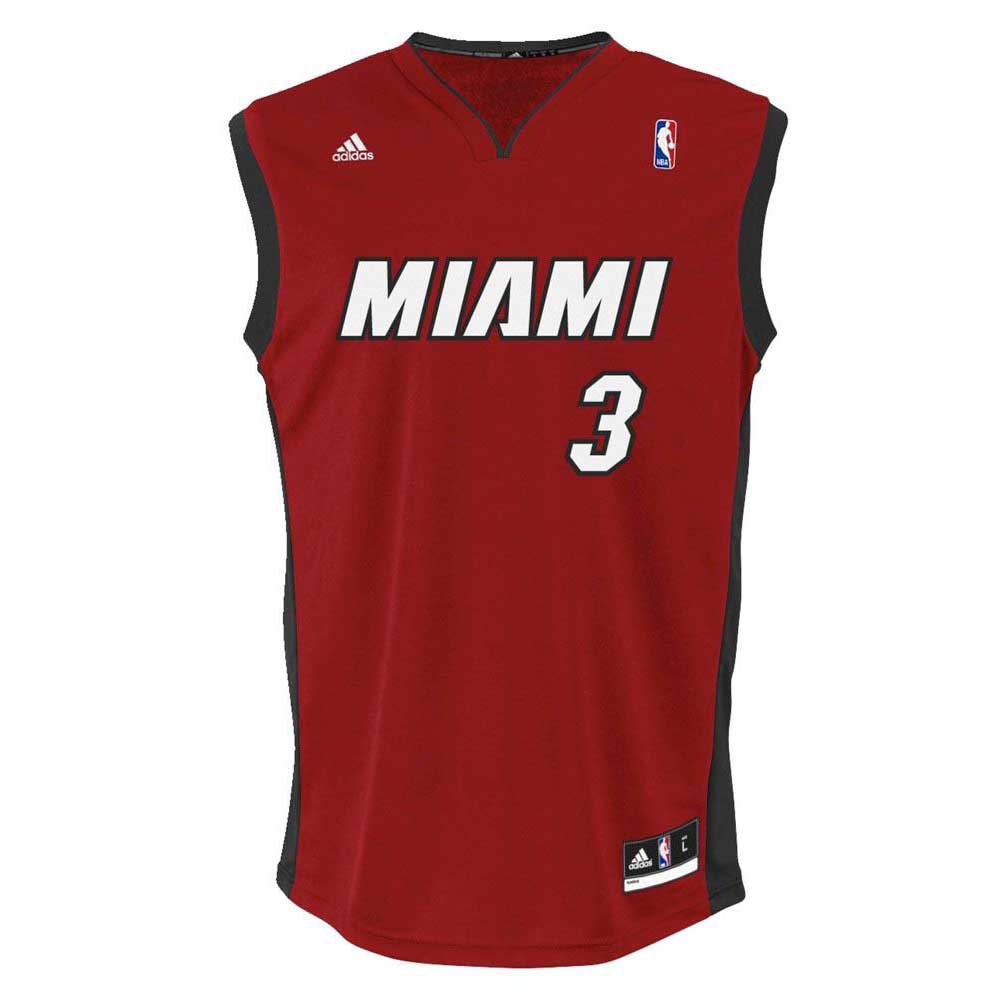finest selection ff6d9 a5a80 adidas Miami Heat Replica Jersey