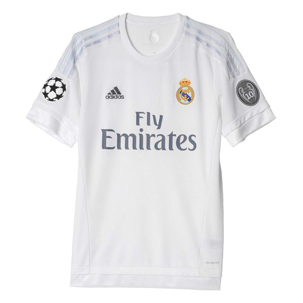 adidas t shirt real madrid champions league buy and offers on goalinn. Black Bedroom Furniture Sets. Home Design Ideas