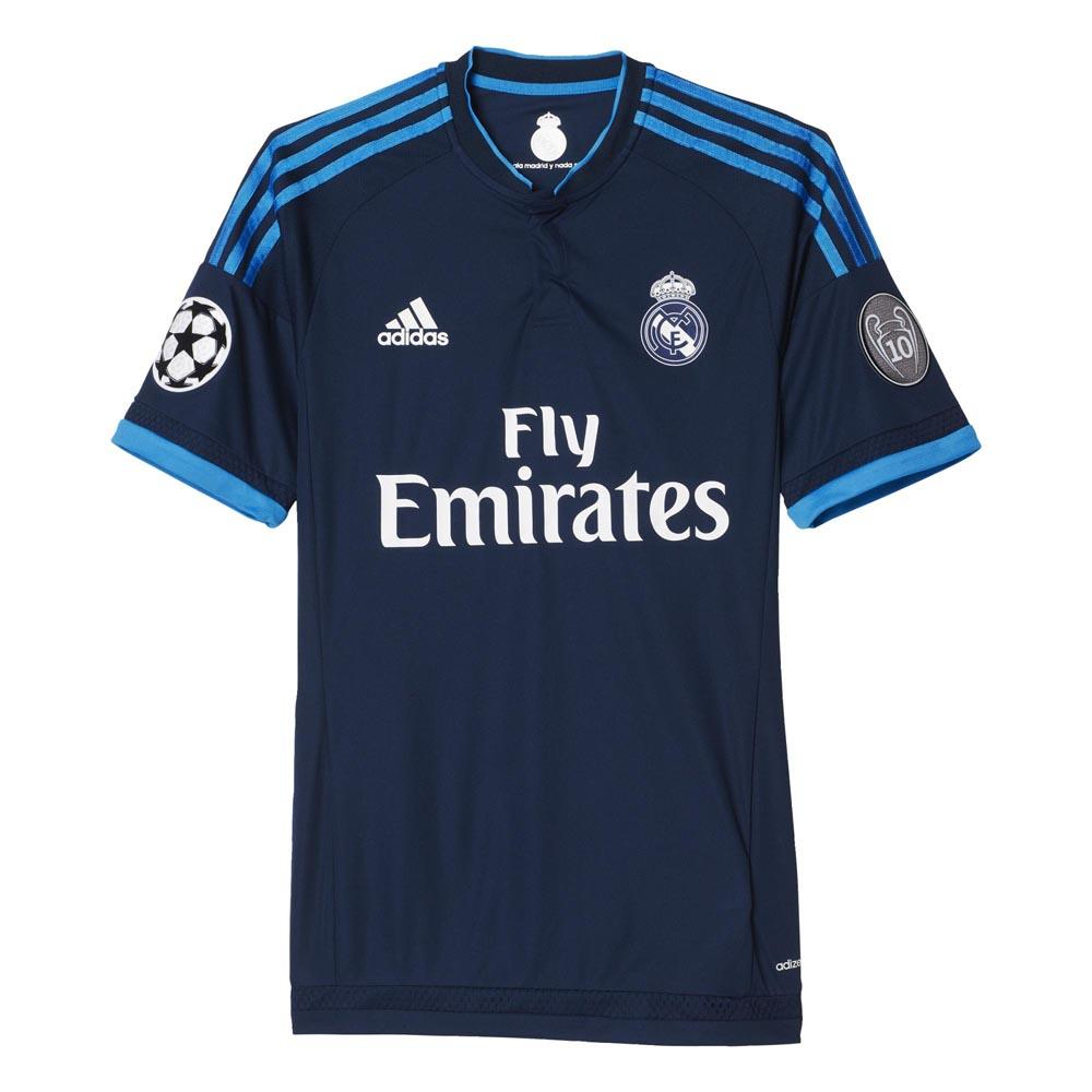 adidas t shirt real madrid third champions league buy and offers on goalinn. Black Bedroom Furniture Sets. Home Design Ideas